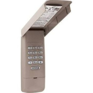 877lm Liftmaster Keyless Entry
